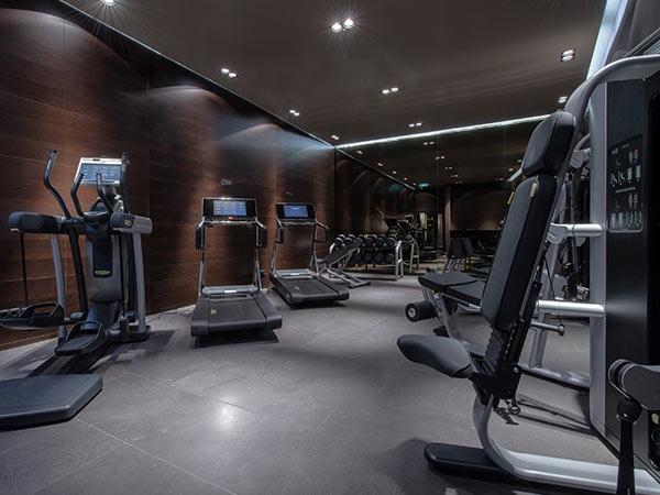 Luxus fitnessraum  Wellness in Österreich - Spa, Sauna, Pool - Zhero Hotel Ischgl - Kappl