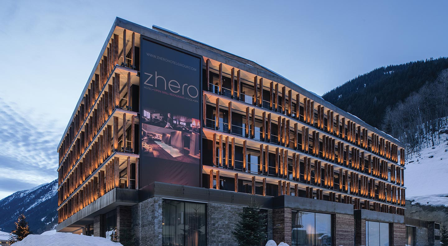Zhero 5 star design hotel ischgl official site zhero for Design hotels