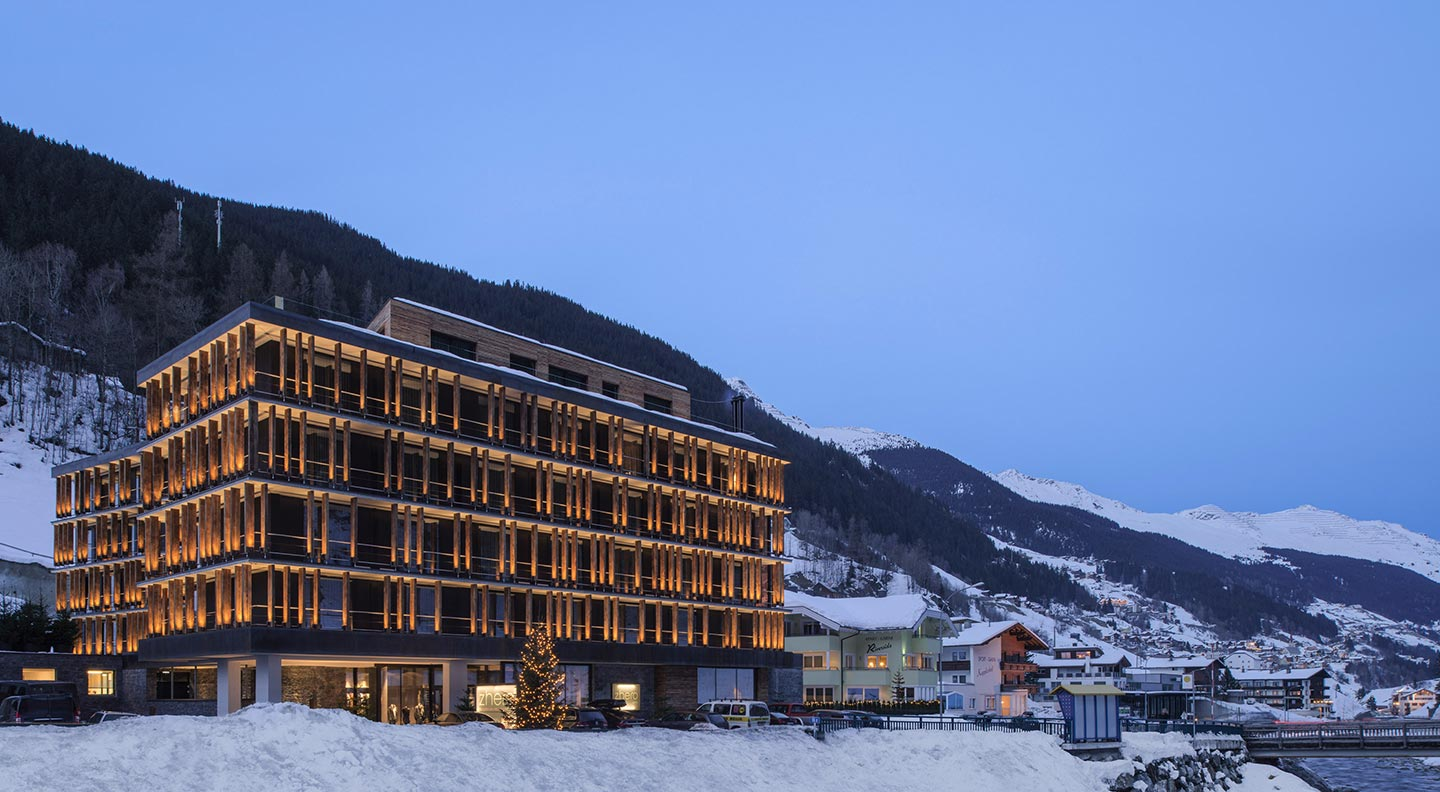 5 sterne luxus design wellnesshotel zhero hotel for Modernes wellnesshotel tirol